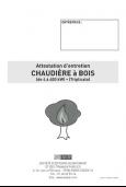 Attestation Entretien Chaudière Bois